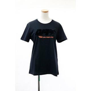 オフホワイト(OFF-WHITE)の新品 Off-White(オフホワイト) Tシャツ ブラック(Tシャツ(半袖/袖なし))