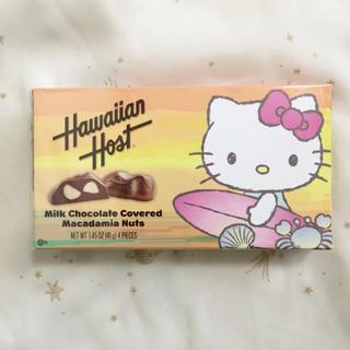 ハローキティ(ハローキティ)の新品未開封 ハローキティ ハワイアンホーストチョコレート 1箱(菓子/デザート)