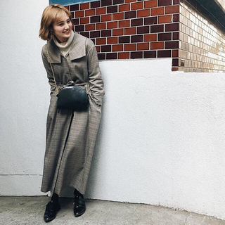 TODAYFUL - GYF TOKYO THE GLEN CHECK MAXI GOWN
