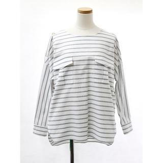 新品 upper hights アッパーハイツ ボーダーシャツ(Tシャツ(長袖/七分))