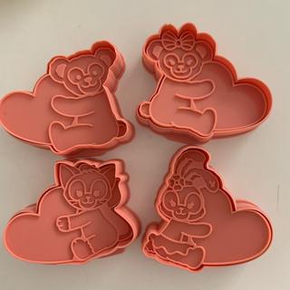 ディズニー(Disney)のダッフィー フレンズ クッキー型(調理道具/製菓道具)