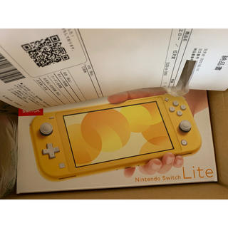 Nintendo Switch - 任天堂Switch lite ライト イエロー yellow本体 日本版