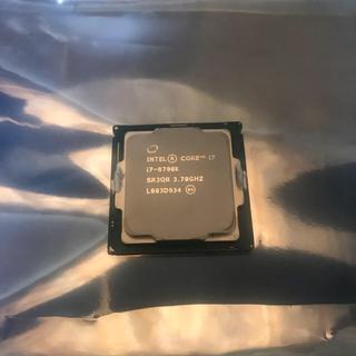 ジャンク core i7-8700K cpu(PCパーツ)