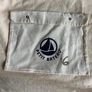 ビューティアンドユースユナイテッドアローズ(BEAUTY&YOUTH UNITED ARROWS)のroku + PETIT BATEAU  ネイビー mini bag(ショップ袋)