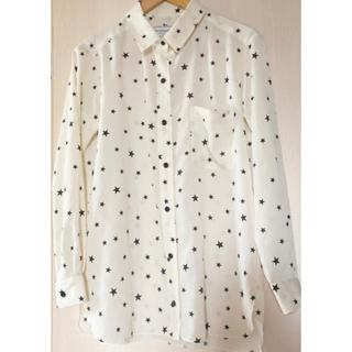 DEUXIEME CLASSE - ドゥーズィエムクラス 星柄 スタープリント デシン シャツ