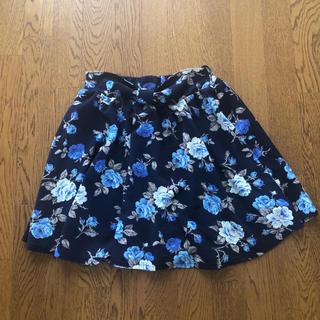 シマムラ(しまむら)のしまむら💓花柄スカート(ひざ丈スカート)
