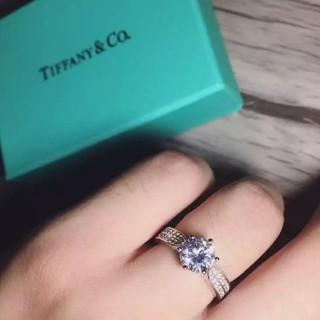 ティファニー(Tiffany & Co.)の素敵❤️ Tiffany リング 人気 指輪 レディース 6号(リング(指輪))