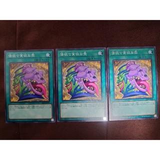 ユウギオウ(遊戯王)の遊戯王 強欲で貪欲な壺 ノーマル 3枚(シングルカード)