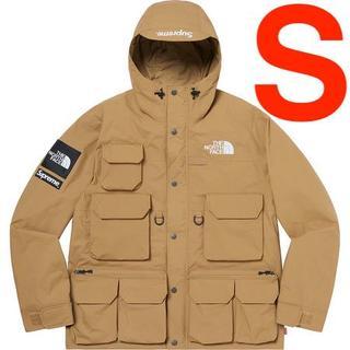 シュプリーム(Supreme)のSupreme North Face Cargo Jacket Gold S(ミリタリージャケット)