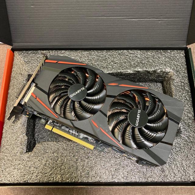 GIGABYTE Radeon RX 570 GAMING 4G スマホ/家電/カメラのPC/タブレット(PCパーツ)の商品写真