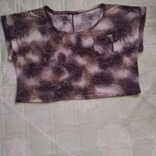 ワンウェイ(one*way)のone way丈短めのTシャツ(Tシャツ(半袖/袖なし))