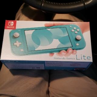Nintendo Switch - 【新品未使用】ニンテンドースイッチライト(ターコイズ)