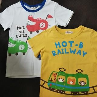 ホットビスケッツ(HOT BISCUITS)のホットビスケッツ 半袖 Tシャツ 2枚 100サイズ(Tシャツ/カットソー)