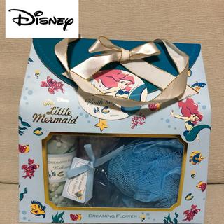 ディズニー(Disney)の【新品】Disney WD アリエル バスバックドリーミングフラワー(入浴剤/バスソルト)