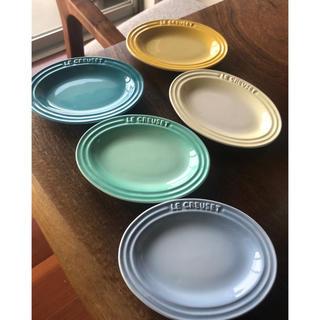 ルクルーゼ(LE CREUSET)のル・クルーゼ セット ミニプレートとミニプチカップ(食器)