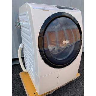 ヒタチ(日立)のsek様専用 ビッグドラムスリム温水ナイアガラ洗浄 11kg /6kg(洗濯機)