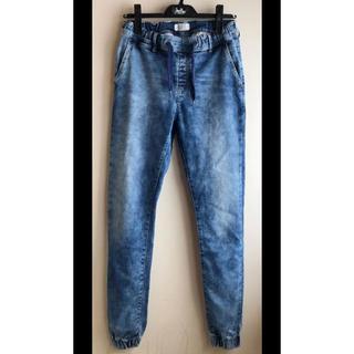 ペペジーンズ(Pepe Jeans)のPepe Jeans LONDON 新品ウォッシュ テーパード  ジョガーパンツ(デニム/ジーンズ)