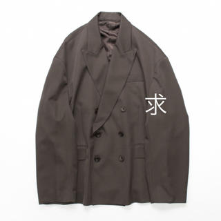 1LDK SELECT - stein OVERSIZED DOUBLE BREASTED JACKET