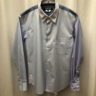 コムデギャルソン(COMME des GARCONS)のコム デ ギャルソン オム ドゥ クレイジーパターンシャツ(シャツ)