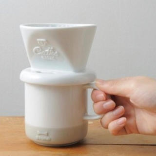 ハリオ(HARIO)のブルーノ コーヒードリッパー&コーヒーメーカー【セット】(コーヒーメーカー)