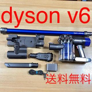 ダイソン(Dyson)の✳️送料込み dyson v6  ダイソン 《難あり》付属品有り 動作確認済み(掃除機)