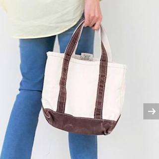 アパルトモンドゥーズィエムクラス(L'Appartement DEUXIEME CLASSE)の新品未使用 L.L.Bean Canvas tote bag Sサイズ ブラウン(トートバッグ)