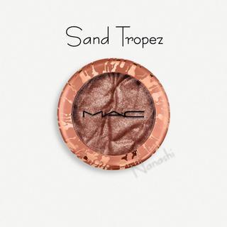 MAC - MAC フォイルドシャドウ sand tropez