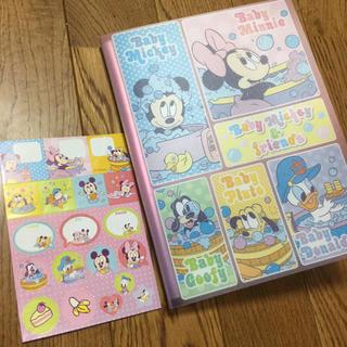 ディズニー(Disney)のディズニー フォトアルバム ベビーミッキー(アルバム)