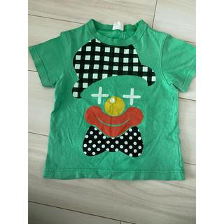110cm  半袖Tシャツ 半袖カットソー ピエロ柄(Tシャツ/カットソー)
