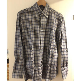 オリアン(ORIAN)の【極美品】Orian(オリアン)のボタンダウンチェックシャツ(シャツ)