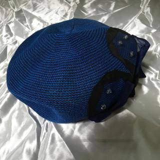 LANVIN en Bleu - LANVAN en blue ベレー帽子 M