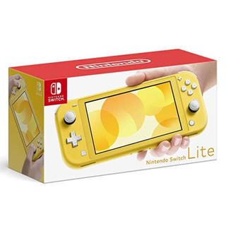 ニンテンドースイッチ(Nintendo Switch)のNintendo Switch LITE イエロー(携帯用ゲーム機本体)