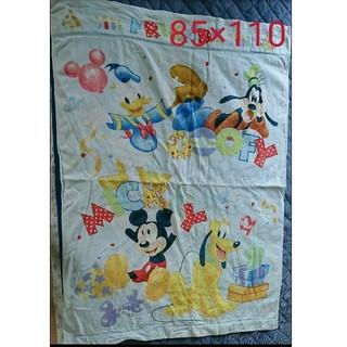 ディズニー(Disney)のタオルケット ミッキー 85×110(タオルケット)