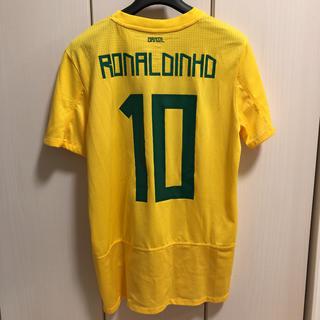 NIKE - NIKE/ナイキ サッカー ブラジル代表 ユニフォーム ロナウジーニョ 10番