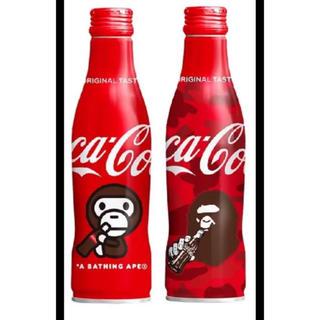 アベイシングエイプ(A BATHING APE)のBAPE コカコーラ 2本セット amazon限定 bathing ape(ソフトドリンク)