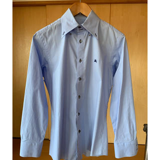 BURBERRY BLACK LABEL - 極美品 バーバリーブラックレーベル M サイズ ライトブルーのシャツ