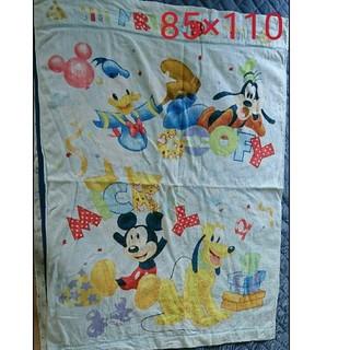 ディズニー(Disney)のミッキー タオルケット 85×110(タオルケット)