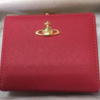 Vivienne Westwood - 新品 VivienneWestwood がま口 二つ折り財布 折りたたみ財布
