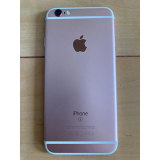 iPhone - iPhone 6s 16GB ローズゴールド SIMフリー