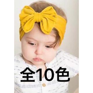 RIKA様専用 Aさくら色Cイエロー ベビー ヘアバンド カチューシャ (その他)
