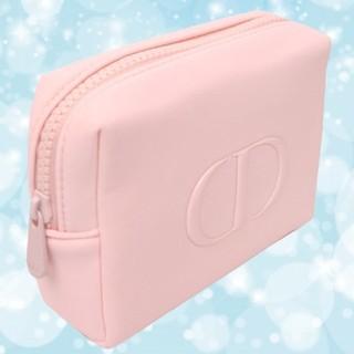 Dior - 【Dior】 ☆2020新作☆ ディオール ノベルティ ふかふか ポーチ ピンク