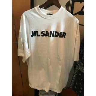 ジルサンダー(Jil Sander)のJIL SANDER ロゴプリントジャージ Tシャツ(Tシャツ/カットソー(半袖/袖なし))
