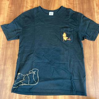 ベルメゾン(ベルメゾン)のメンズTシャツ くまのプーさん(Tシャツ/カットソー(半袖/袖なし))
