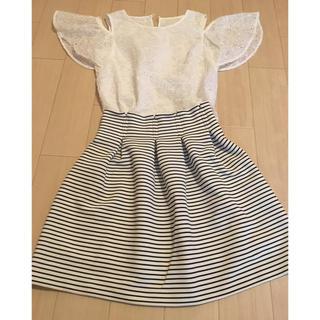MERCURYDUO - 【値下げ!】マーキュリーデュオ♡ボーダースカート