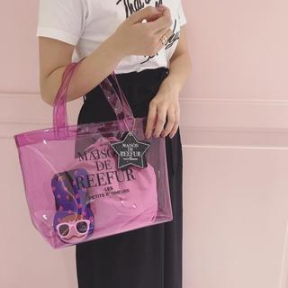Maison de Reefur - メゾンドリーファー クリアバッグ ピンク