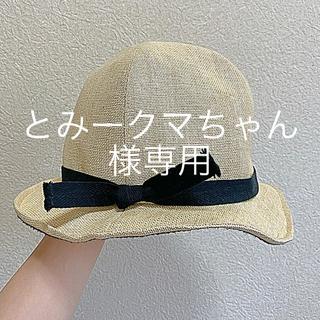 オーバーライド(override)のoverride 帽子 ハット(麦わら帽子/ストローハット)