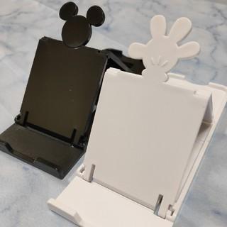 ミッキーマウス 折りたたみ スマホ タブレット スタンド