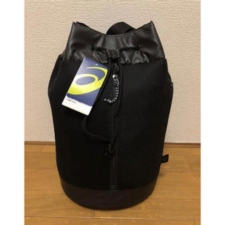 アシックス(asics)の新品 asicsダッフルバッグアシックス バッグ巾着型ショルダーバッグジムバッグ(ショルダーバッグ)