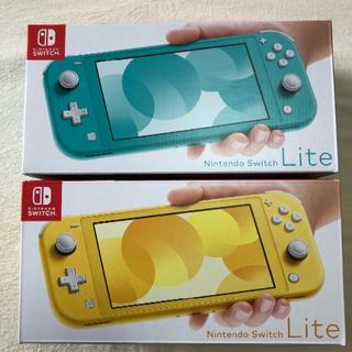 Nintendo Switch - 任天堂 スイッチ ライト イエロー ・ターコイズ セット