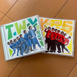 カンジャニエイト(関ジャニ∞)の関ジャニ∞ T.W.L/イエローパンジーストリート セット(ポップス/ロック(邦楽))